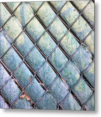 Privacy Chain Metal Print