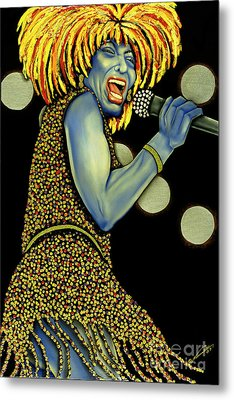 private Dancer Metal Print by Nannette Harris