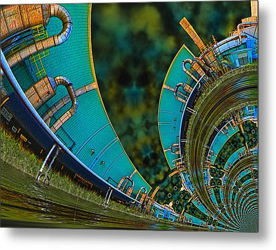 Processing Point 3 Metal Print by Wendy J St Christopher