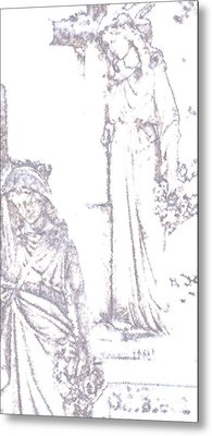 Procession Of Faith 2 Metal Print by Linda Shafer