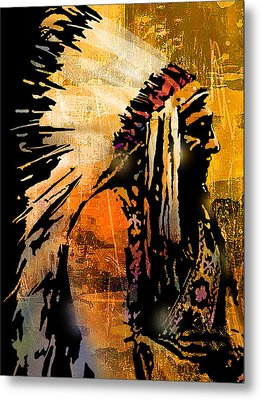 Profile Of Pride Metal Print by Paul Sachtleben