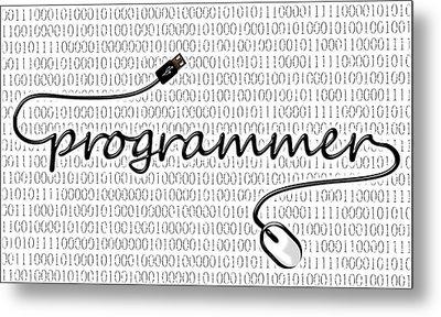 Programmer Metal Print