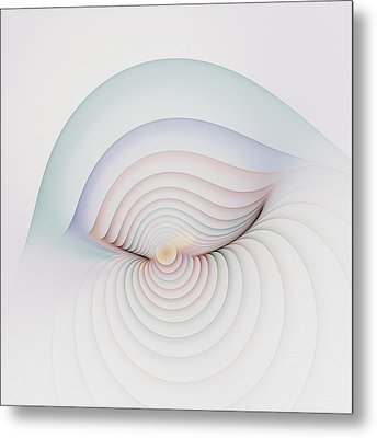 Progression 1 Metal Print by Richard Ortolano