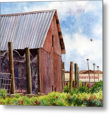 Metal Print featuring the painting Progression by Anne Gifford