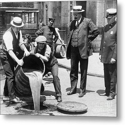 Prohibition, C1921 Metal Print by Granger