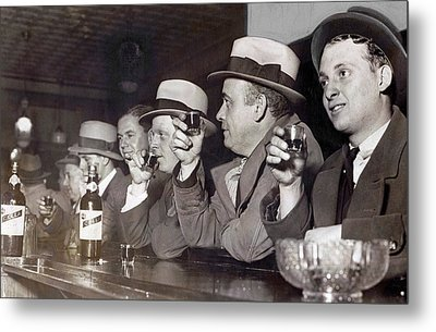 Prohibition Ends Dec 5, 1933 Metal Print