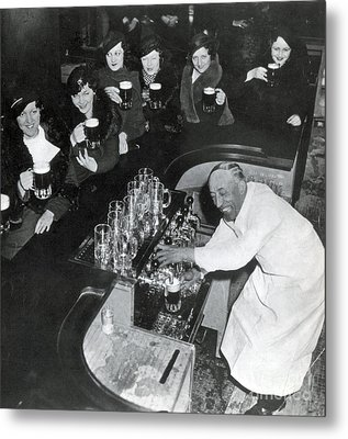 Prohibition Repealed, 1933 Metal Print