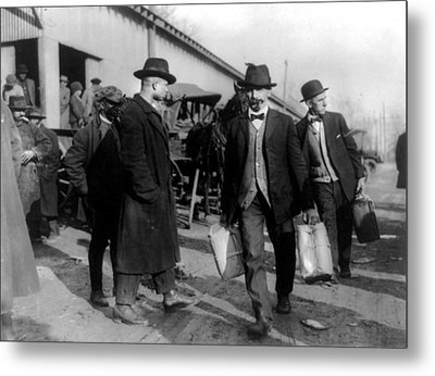 Prohibition, Two Men, Probably Metal Print by Everett