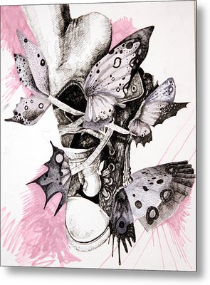 Project Set Me Free Metal Print by Beka Burns