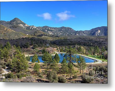 Metal Print featuring the photograph Promise Lake And Camp Scherman by Eddie Yerkish