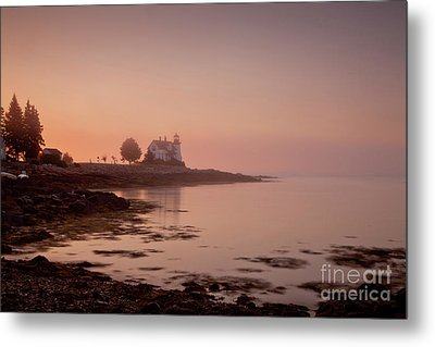 Prospect Harbor Dawn Metal Print