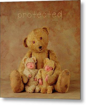 Protected Metal Print by Anne Geddes