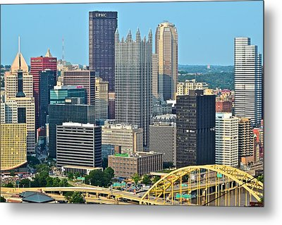 Proud Pittsburgh Metal Print by Frozen in Time Fine Art Photography