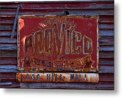 Provico Metal Print by Pat Turner