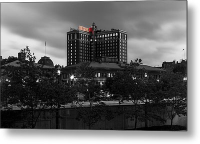 Metal Print featuring the photograph Providence Biltmore by Andrew Pacheco