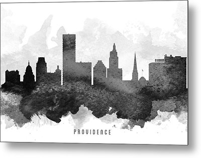 Providence Cityscape 11 Metal Print