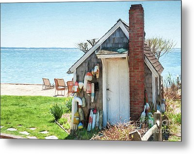 Provincetown Shed Metal Print