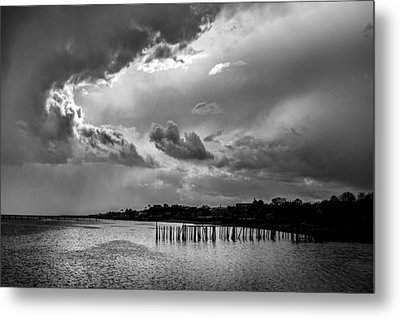 Metal Print featuring the photograph Provincetown Storm by Charles Harden