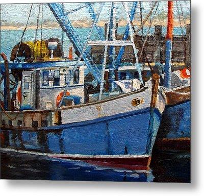 Provinctown Fishing Boats Metal Print