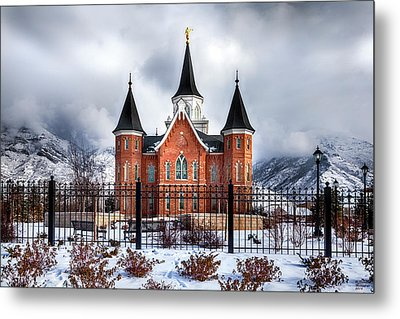 Provo City Center Temple Lds Large Canvas Art, Canvas Print, Large Art, Large Wall Decor, Home Decor Metal Print