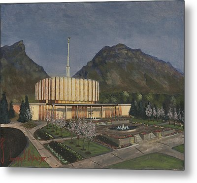 Provo Spring Evening Metal Print by Jeff Brimley