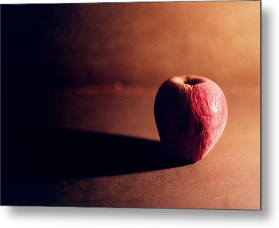 Pruned Apple Still Life Metal Print by Michelle Calkins