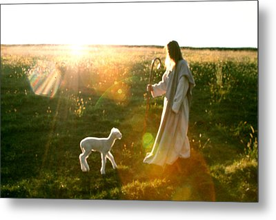 Standing In The Son Metal Print by Vienne Rea