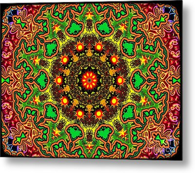 Psych Metal Print by Robert Orinski