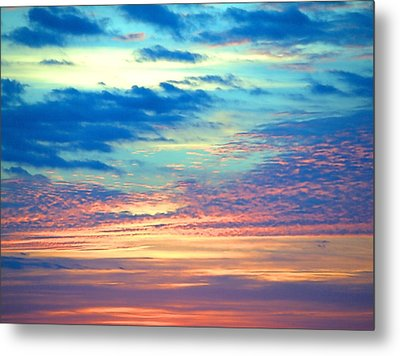 Psychedelic Metal Print by  Newwwman