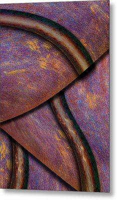 Metal Print featuring the photograph Psychedelic Pi by Paul Wear