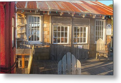 Pt. Reyes Boathouse Metal Print