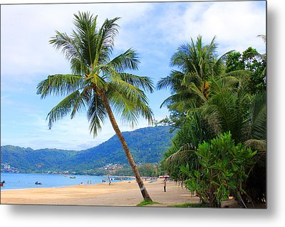 Phuket Patong Beach Metal Print by Mark Ashkenazi