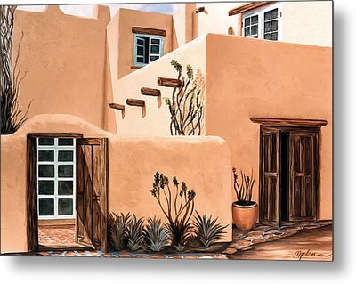 Still, In The Southwest Metal Print by Mary Grden's Baywood Gallery
