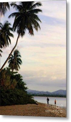 Puerto Rico Palms Metal Print by Madeline Ellis