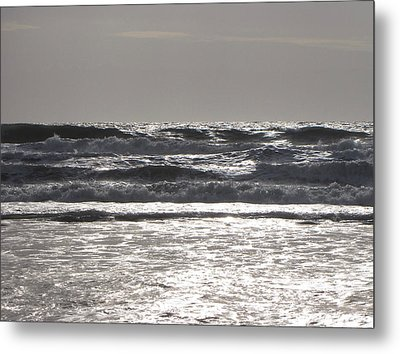 Metal Print featuring the photograph Puissance Oceane by Marc Philippe Joly