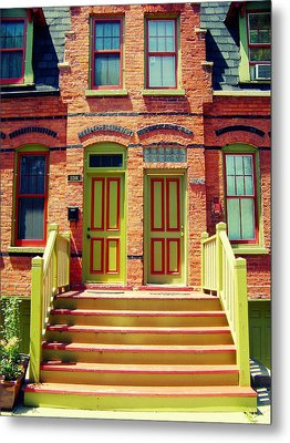 Pullman National Monument Row House Metal Print by Kyle Hanson