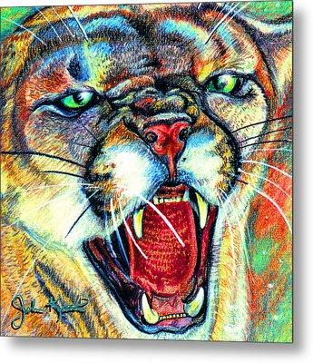 Puma Metal Print by John Keaton