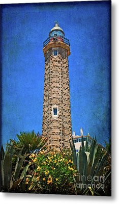 Metal Print featuring the photograph Punto Doncela Lighthouse by Mary Machare