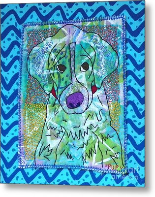 Pup Metal Print by Susan Sorrell