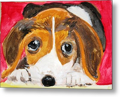 Puppy For Love Metal Print