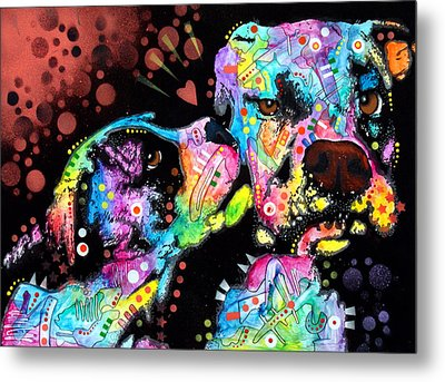 Puppy Love Metal Print by Dean Russo