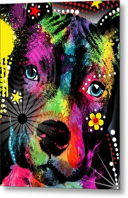 Puppy  Metal Print by Mark Ashkenazi