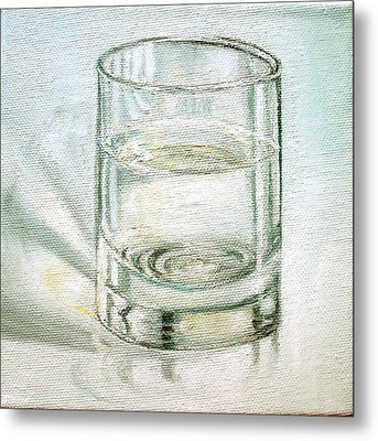 Pure And Simple 2 Metal Print by Irene Corey