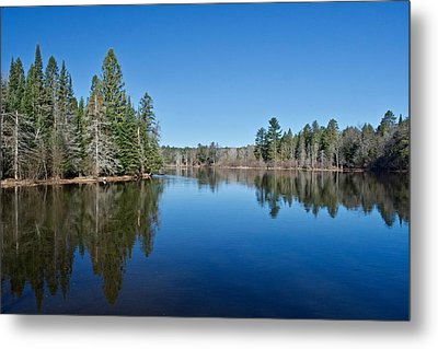 Metal Print featuring the photograph Pure Blue Waters 1772 by Michael Peychich