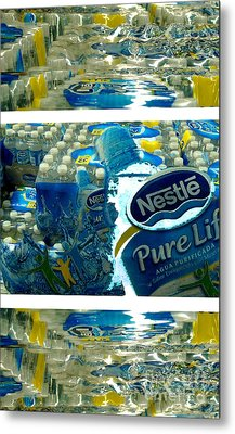 Pure Life Metal Print by Ze DaLuz