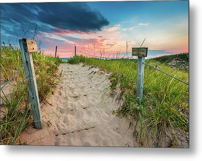 Metal Print featuring the photograph Pure Michigan Sunset by Sebastian Musial