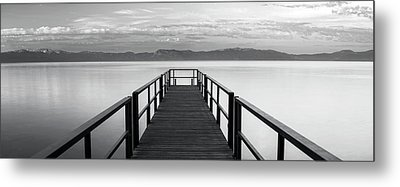 Metal Print featuring the photograph Pure State Of Mind Lake Tahoe Pier by Brad Scott