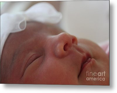 Metal Print featuring the photograph Purity And Innocence by Terri Thompson