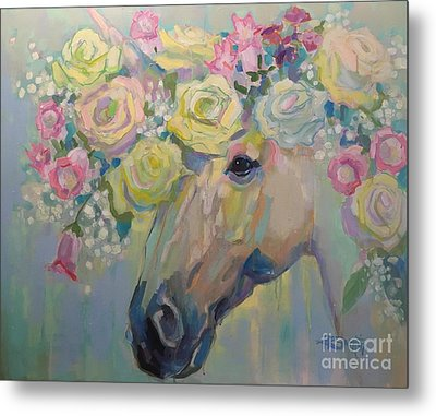 Purity Metal Print by Kimberly Santini