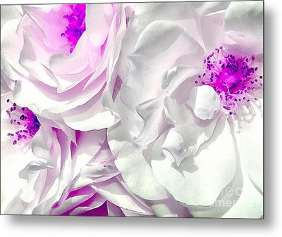 Purple Essence Metal Print